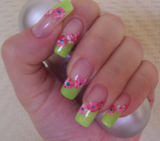 French Nails Designs