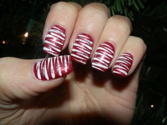 40 creative christmas nail art designs nail design ideaz christmas nails prinsesfo Image collections