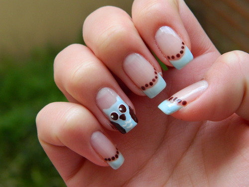 35 cute nail designs for beginners nail design ideaz cute nail designs prinsesfo Choice Image
