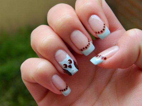 Cool Nail Design Ideas cool easy nail designs rihanna are good example Cute Nail Designs