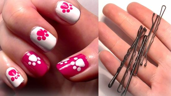 35 cute nail designs for beginners nail design ideaz cute nail designs prinsesfo Choice Image