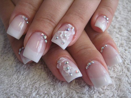 Diamond Nails - 35 Best Diamond Nail Art Ideas 2014 Nail Design Ideaz