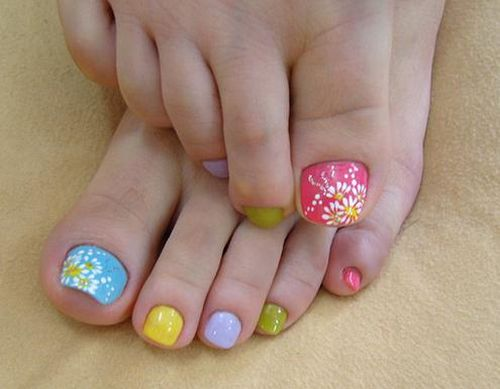 Toe Nail Art - 50 Easter Nail Art Designs For Toes Nail Design Ideaz