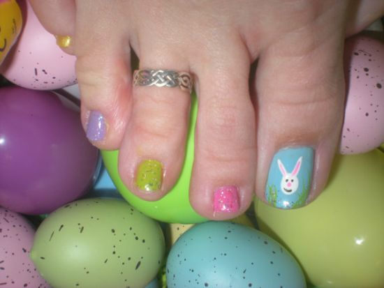 Easter Nail Designs - 50 Easter Nail Art Designs For Toes Nail Design Ideaz
