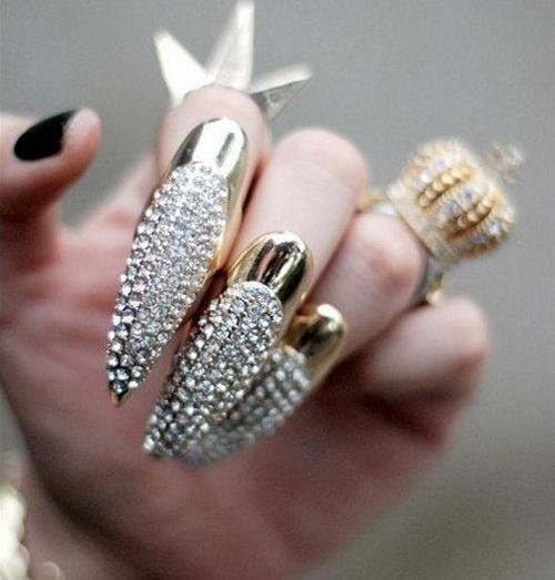 35 Best Diamond Nail Art Ideas 2014 Design Ideaz