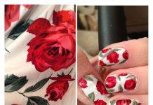 Floral Nail Art Ideas