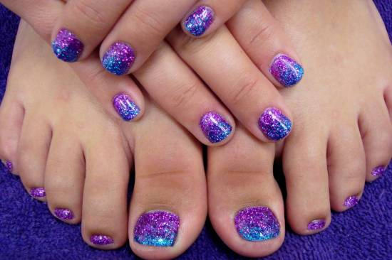 50 easter nail art designs for toes nail design ideaz cute toe easter nails prinsesfo Gallery