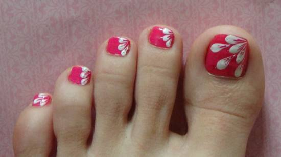 toe nail designs - Attractive Nail Art Designs For Your Toes Nail Design Ideaz