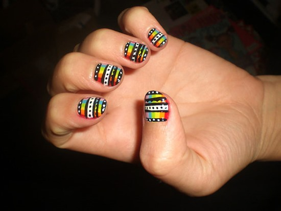 33 amazing nail art ideas for small nails nail design ideaz nail art ideas for small nails prinsesfo Images