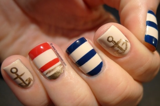 40 fun nail ideas for teenage girls nail design ideaz nail design ideas prinsesfo Choice Image