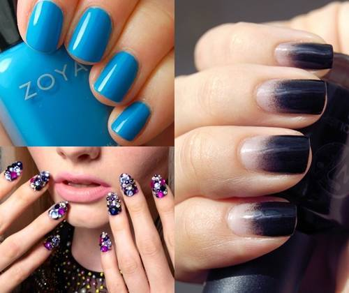 40 amazing nail polish ideas for girls nail design ideaz nail art trends prinsesfo Choice Image