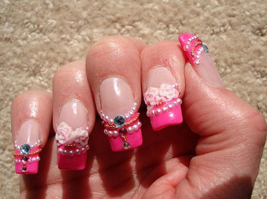 Pink Nail Designs