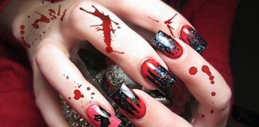 40 scary 3d halloween nail art designs and ideas for 2014