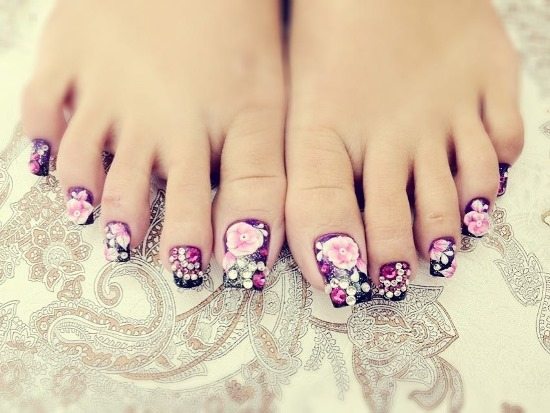 Toe Nail Designs Ideas toe nail art designs gallery best nail toe nail art design Toe Nail Design Ideas