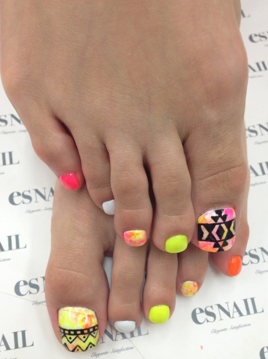 Toe Nail Design Ideas