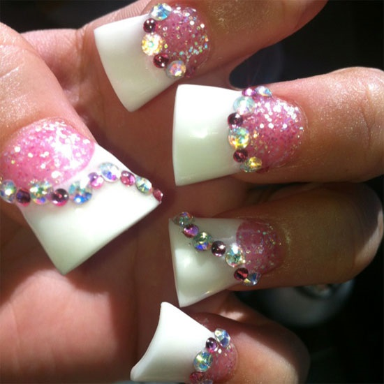 40 Acrylic Nail Design Ideas Nail Design Ideaz
