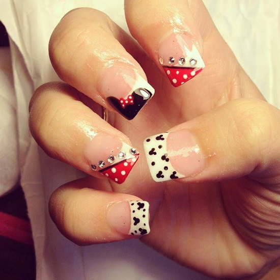 Disney Nail Art - 35 Disney Nail Art Designs Nail Design Ideaz