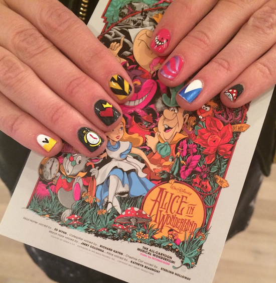 35 Disney Nail Art Designs | Nail Design Ideaz