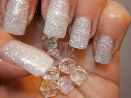 35 Glitter Nail Designs Ideas for Everyday | Nail Design Ideaz