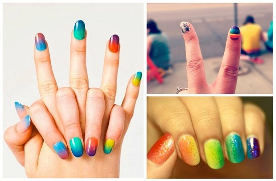 Nail designs for everyday : Glitter nail designs ideas for everyday design ideaz