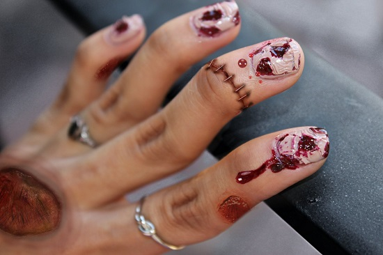 Halloween Nail Designs - Cute And Creepy Halloween Nail Art Ideas Nail Design Ideaz