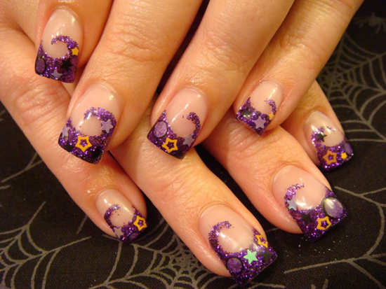 40 awesome french nail designs for girls nail design ideaz french nails prinsesfo Gallery