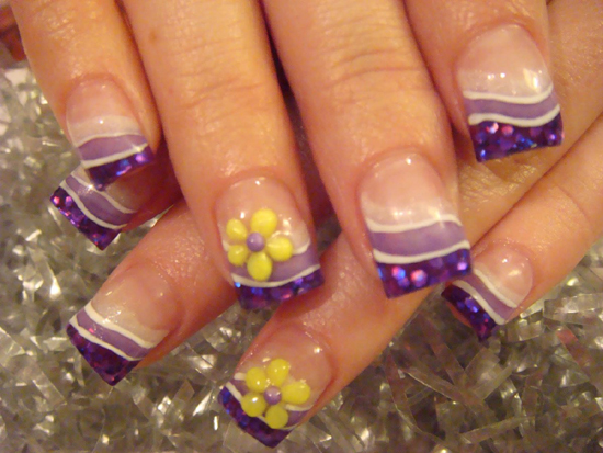 Nail Art French Manicure Designs 2014 Splendid Wedding Company