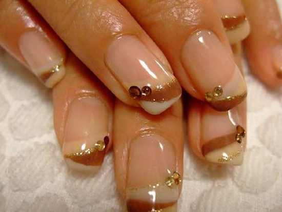 40 awesome french nail designs for girls nail design ideaz french nails prinsesfo Image collections