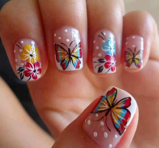 40 Amazing Butterfly Nail Art Ideas Nail Design Ideaz