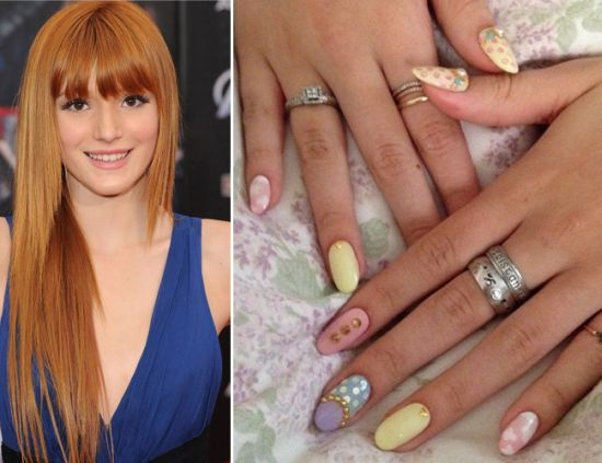 Celebrity Nail Designs - 50 Cool Celebrity Nail Designs For 2014 Nail Design Ideaz