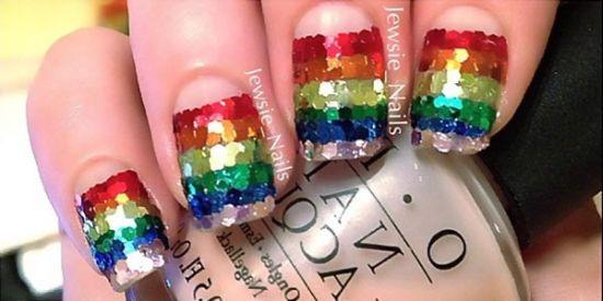35 Creative Striped Nail Designs