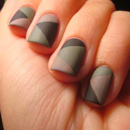 Matte Nail Art Ideas - 33 Matte Nail Art Designs For Girls Nail Design Ideaz