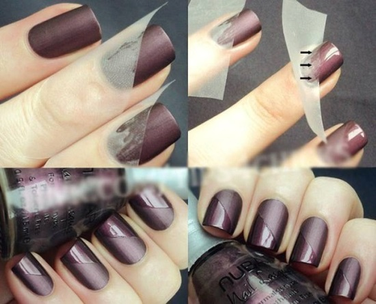 Matte Nail Art Ideas
