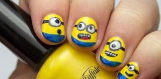 Minion Nail Art