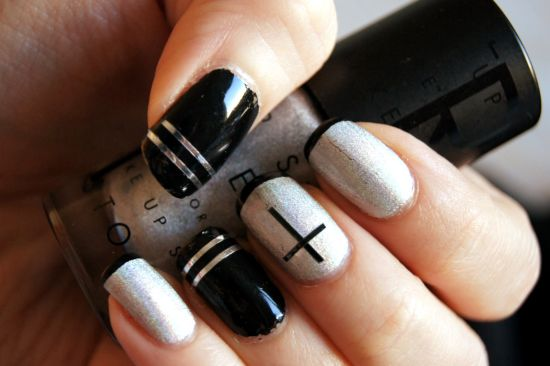 striped nail designs - 35 Creative Striped Nail Designs Nail Design Ideaz