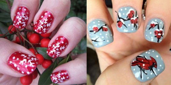 Winter Nail Art Ideas Splendid Wedding Company