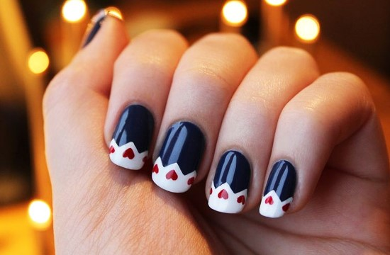 35 Stylish Winter Nail Art Ideas Nail Design Ideaz