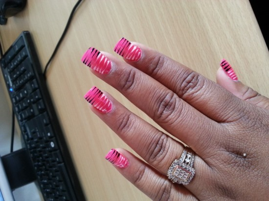 Zebra Nails - 40 Rocking Zebra Nail Designs Nail Design Ideaz