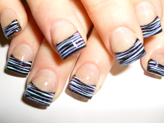 Zebra Nail Art Ideas