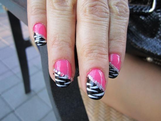 40 Rocking Zebra Nail Designs Nail Design Ideaz
