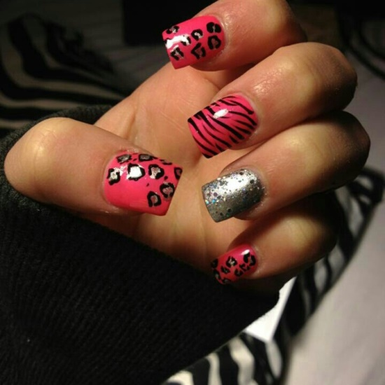 40 Rocking Zebra Nail Designs | Nail Design Ideaz
