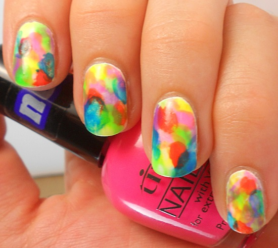 40 Trendy Neon Nail Art Designs | Nail Design Ideaz