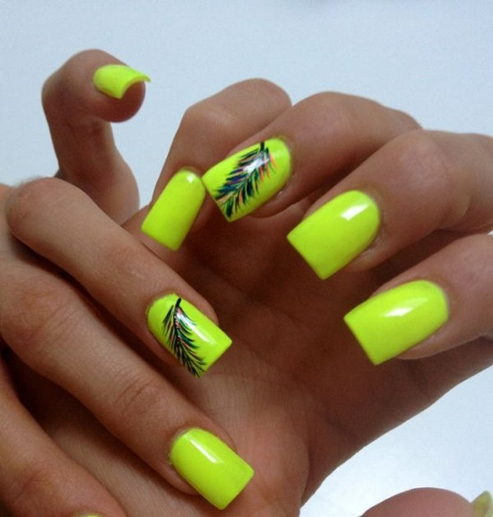 40 trendy neon nail art designs nail design ideaz neon nail polish prinsesfo Choice Image