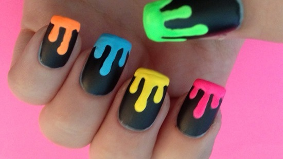 Neon Nail Designs | Graham Reid