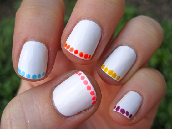 Polka Dot Nail Art - 40 Inspiring Polka Dot Nail Art Designs Nail Design Ideaz