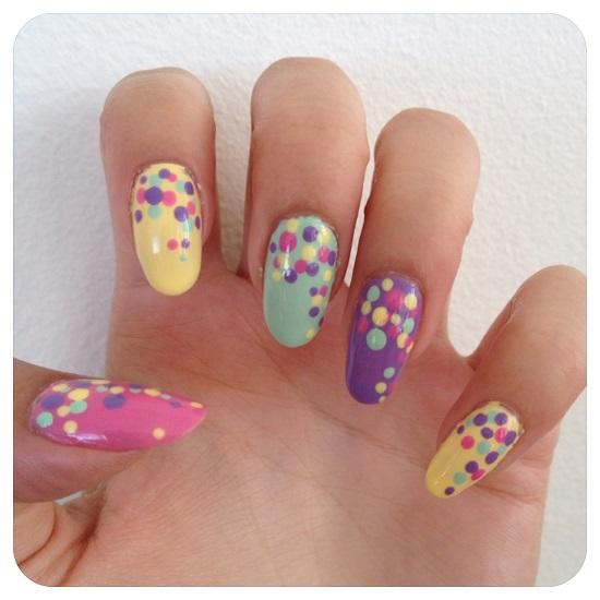 40 inspiring polka dot nail art designs nail design ideaz polka dots nail art prinsesfo Choice Image