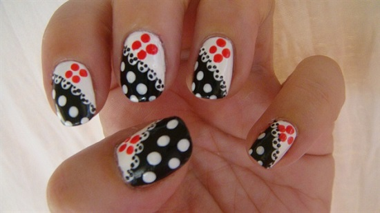 40 inspiring polka dot nail art designs nail design ideaz polka dot nail art prinsesfo Gallery