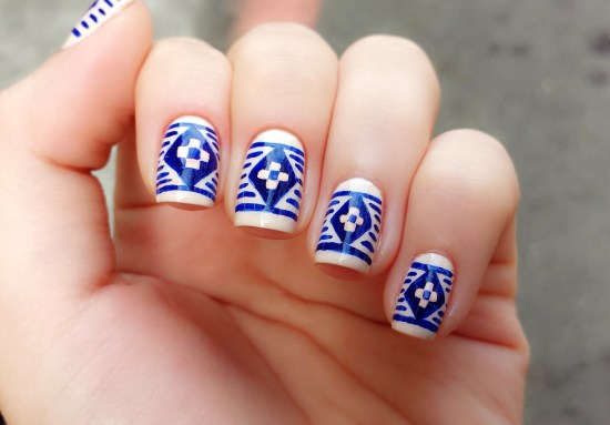 35 unique tribal nail art designs nail design ideaz tribal nail designs prinsesfo Image collections