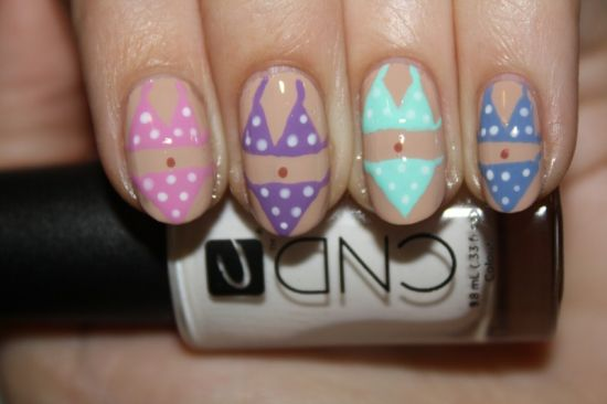 15 wedding nail art tutorials for 2015 nail design ideaz wedding nail art prinsesfo Gallery