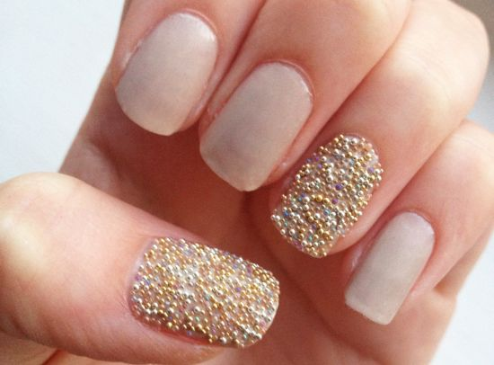 15 wedding nail art tutorials for 2015 nail design ideaz bridal nail art prinsesfo Gallery